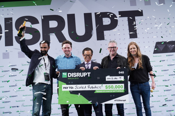 And the winner of Startup Battlefield at Disrupt Berlin 2019 is… Scaled Robotics – TechCrunch
